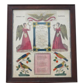 Pennsylvania German Fraktur c.1830s to 1850s