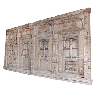Antique Carved Palace Facade