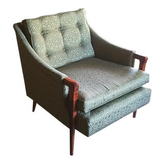 Mid-Century Robsjohn-Gibbings Style Lounge Chair