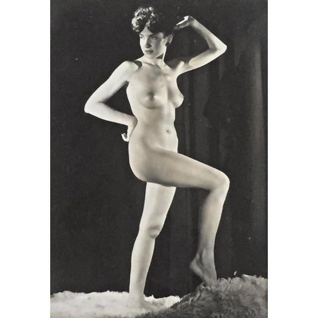 Mid-Century 1950s Nude Female Photograph - Image 1 of 4