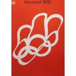 1976 Montreal Olympics Logo Poster