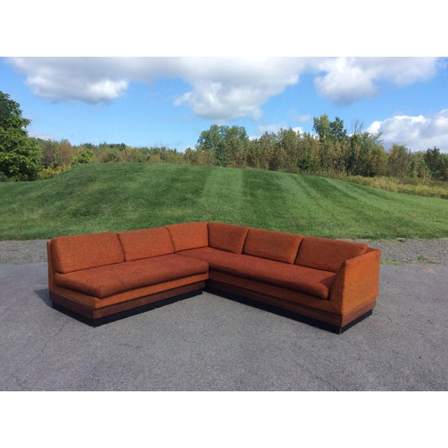 Adrian Pearsall Sectional Sofa Craft Associates - Image 8 of 11