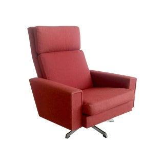 Mid-Century Danish Hans Wegner Style Lounge Chair