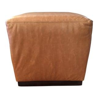 Williams-Sonoma Home Robertson Leather Ottoman