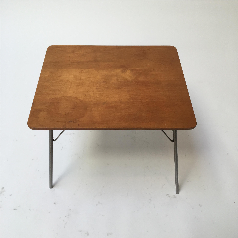Beautiful Vintage Eames IT 1 Child Size Folding Table   Image 3 Of 11