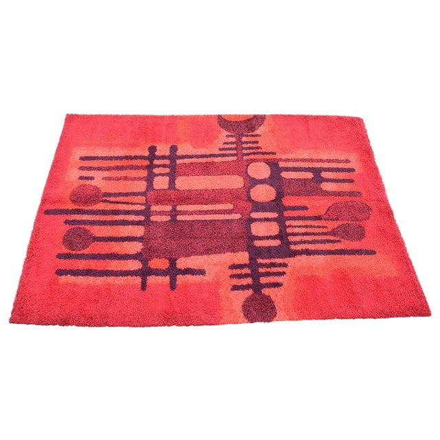 Large Bright Colorful Rug by Ege Rya - Image 1 of 5