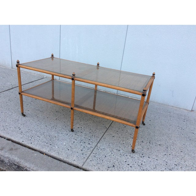 1960's Hollywood Regency Two Tiered Console - Image 6 of 11