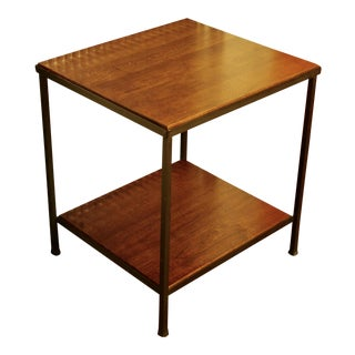 Modernist Iron & Wood Heavyweight Table