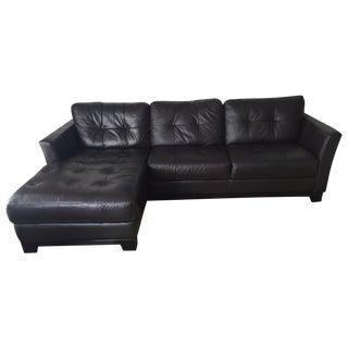 Vintage Used Black Sectionals Chairish