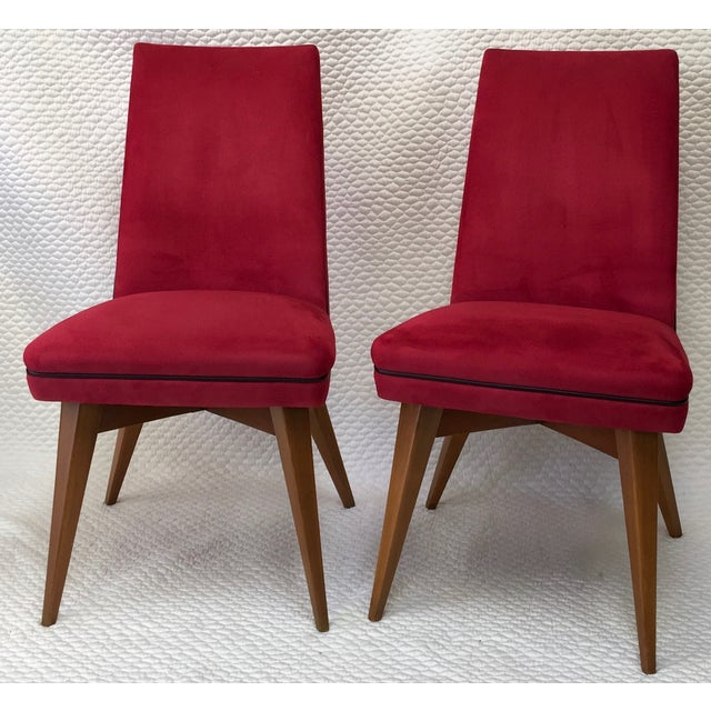 Mid-Century Erton Dining Chairs - Set of 6 - Image 3 of 9