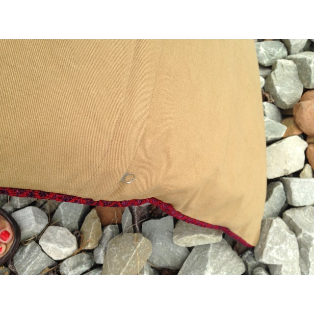 "Image of Decorative Anatolian Kilim Pillow, 20""x 20"""