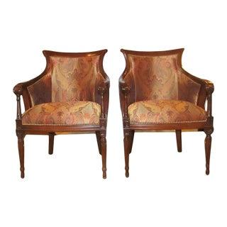 Regency Side Chairs - Pair