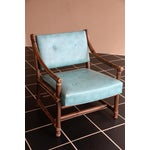 Image of McGuire Bamboo, Leather & Rawhide Chairs - A Pair