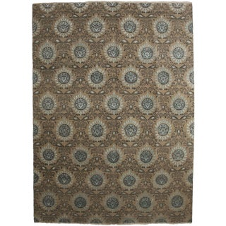 """Ikat, Hand Knotted Area Rug - 9' 1"""" X 12' 4"""""""
