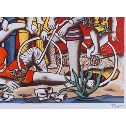 Fernand Leger - Leger Museum Lithograph - Image 2 of 3