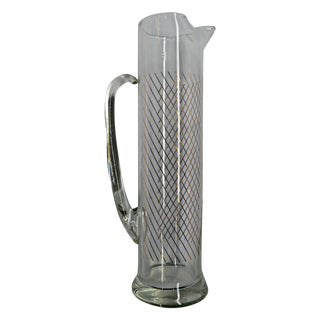 Clear Glass Svelte Pitcher