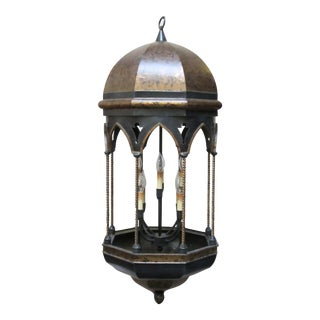 8 Light Moroccan Lantern Chandelier