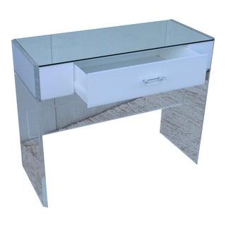 Mid-Century Modern Lucite Desk