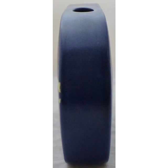 Mid-Century Linear Pottery Vase - Image 5 of 9