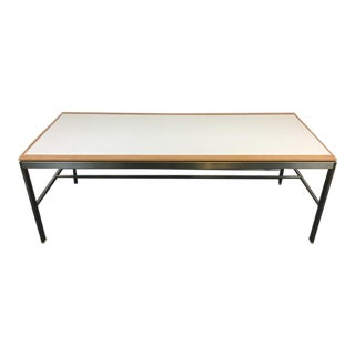 Woodcraft Inc. Metal Laminate & Oak Table