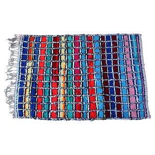 Moroccan Azilal Wool Rug - 6' X 4'