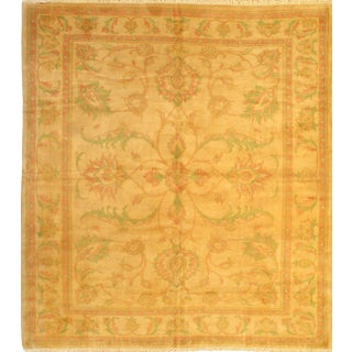"Pasargad N Y Original Persian Sultanabad Hand-Knotted Lamb's Wool Rug-8'9""x9'10"""