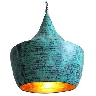 Hand Hammered Copper Lantern