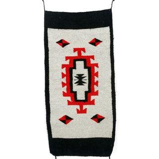 Southwestern Navajo Style Wool Rug - 1′8″ × 3′7″