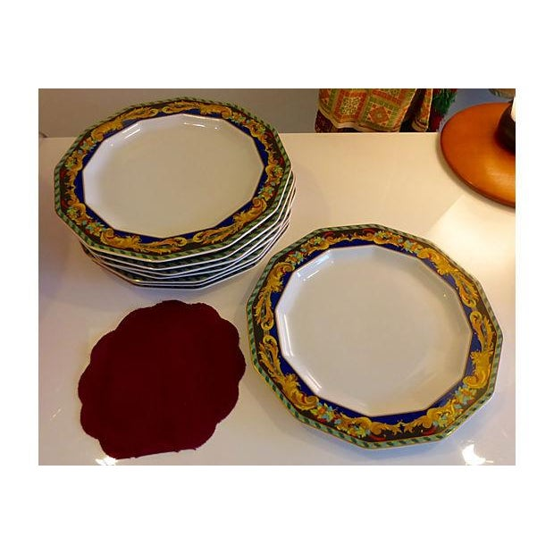 Image of Rosenthal for Versace Plates - Set of 8