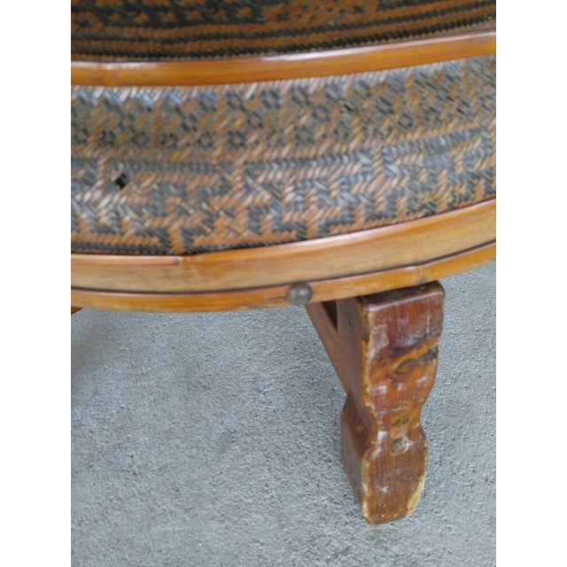 Boho Style Coffee Table - Image 4 of 7