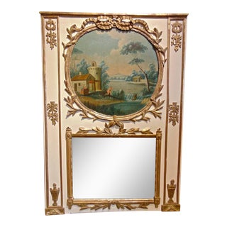 Late 18th Century Trumeau Mirror