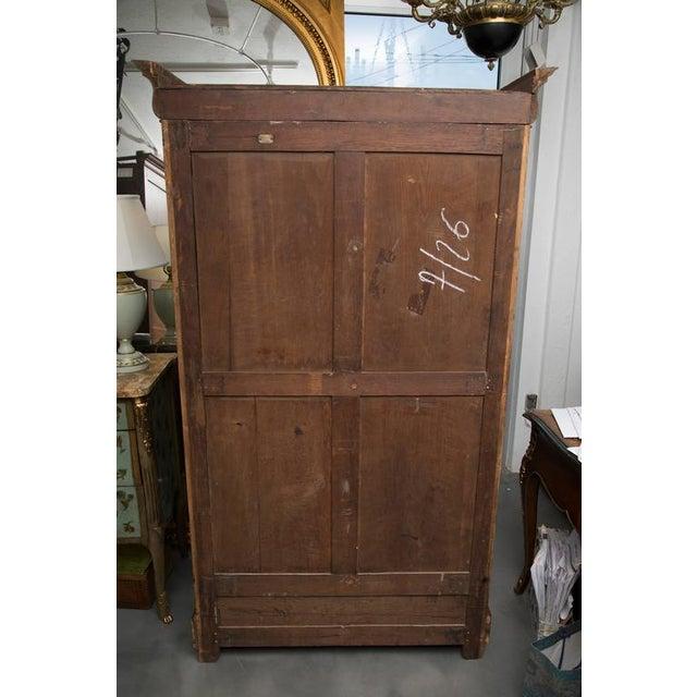 19th Century French Empire Mahogany Bookcase - Image 5 of 10