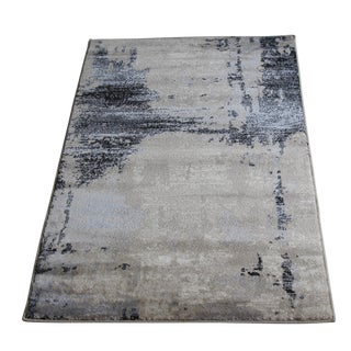 Abstract Brown Rug - 3′ × 5′