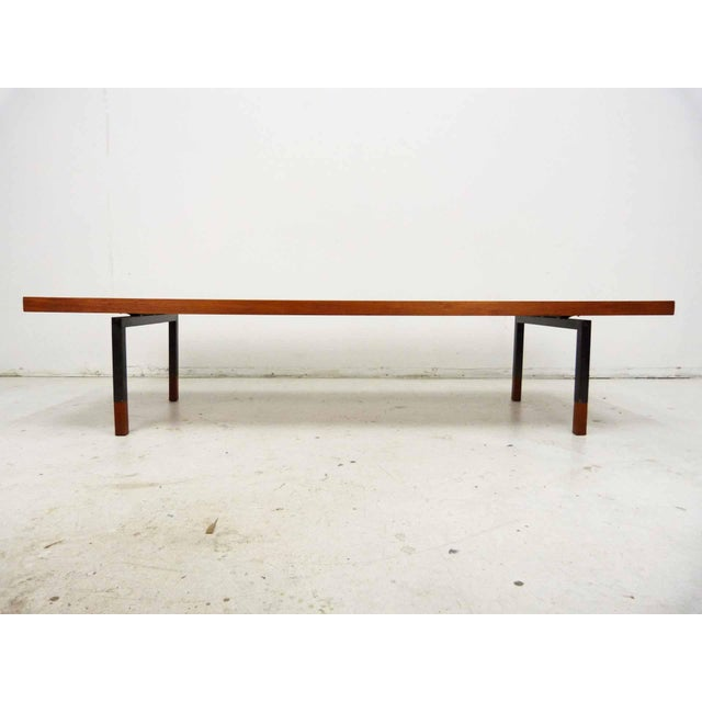 Teak & Steel Coffee Table by Johannes Aasbjerg for Illums Bolighus - Image 4 of 8