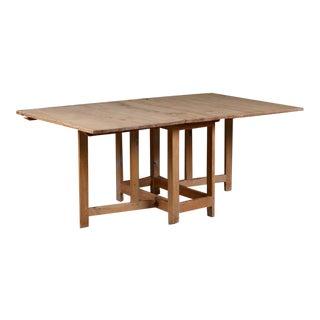 19th Century Swedish Pine Gateleg Table