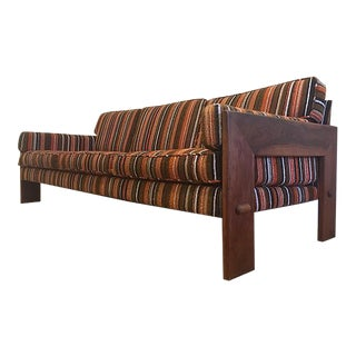 Adrian Pearsall for Craft Associates Striped Sofa