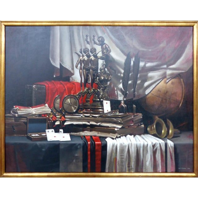 Still Life w/ Letters by Diego Dayer - Image 2 of 11