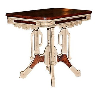 Eastlake Victorian Painted Table