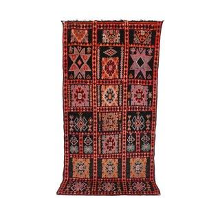 """Vintage Boujad Moroccan Rug - 5'9"""" x 12'2"""""""
