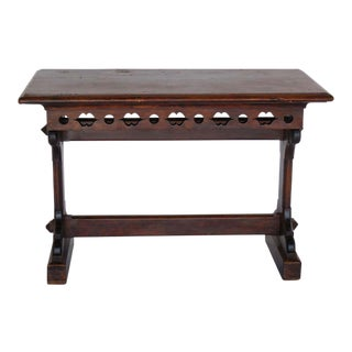 19th Century Gothic Revival Altar Table