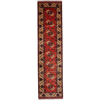 "Traditional Hand-Knotted Runner - 2'8"" x 10'7"""