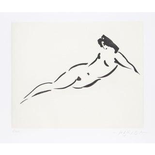 'Nude I' Reuben Nakian Etching