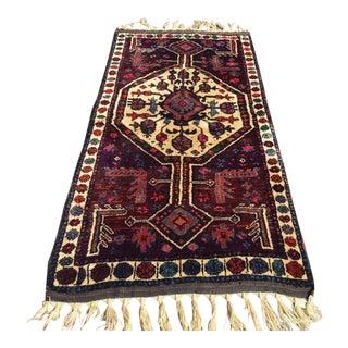 Vintage Anatolian Area Rug - 3′6″ × 7′