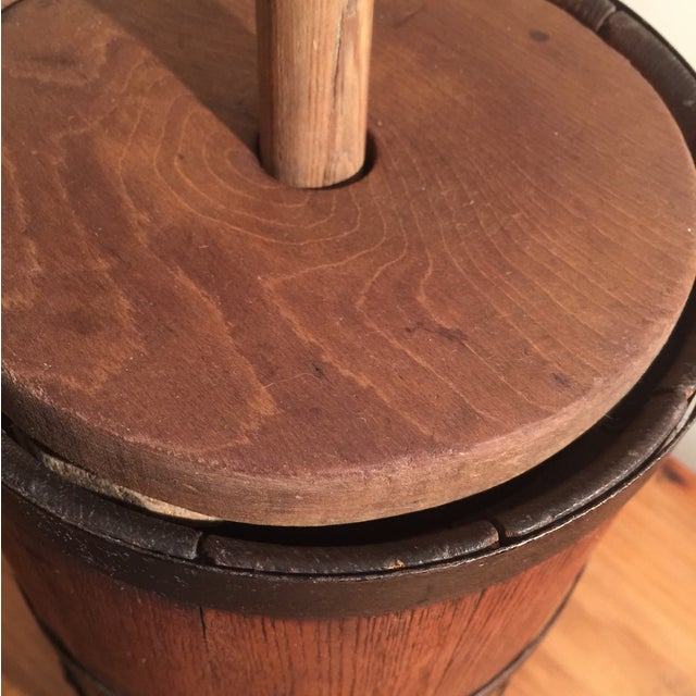 Antique Wooden Butter Churn - Image 3 of 11