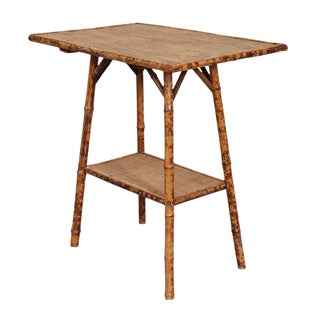 English Victorian Bamboo Side Table