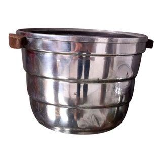 Mid-Century Modern Aluminum Ice Bucket by Borkville