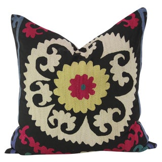 Floral Suzani Square Pillow