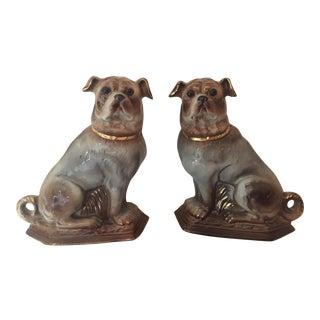 English Staffordshire Pugs - A Pair