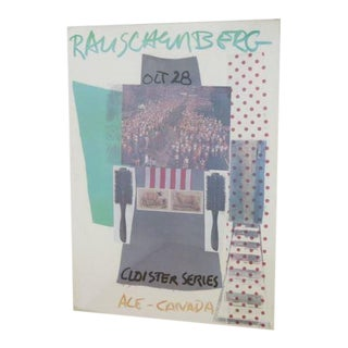 "Robert Rauschenberg Lithograph Poster, ""The Cloister Series,"" 1966"