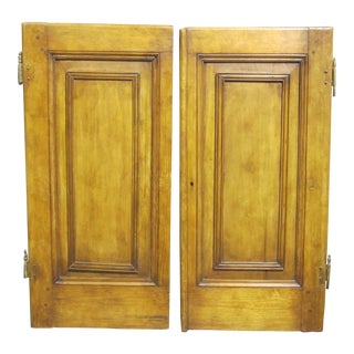 Antique Sarreid LTD Cabinet Doors- A Pair